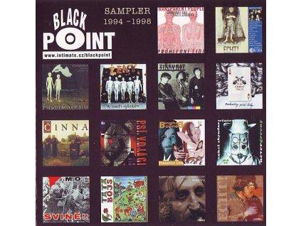 V/A BP SAMPLER 1994-1998 - Psí vojáci, Ženy, Echt, Zikkurat, Chadima+Fajt atd.- CD